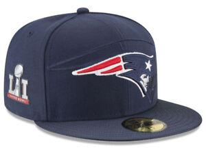 New England Patriots New Era 59Fifty Hat - Super Bowl LI Side Patch Sideline Hat