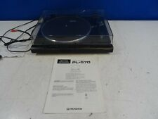 Pioneer PL-570 Automatic Stereo Turntable w/ AT112E/U Cartridge