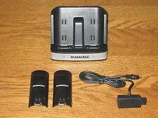 Duracell Ladestation + 2x Akku für Nintendo Wii Remote Controller MP Dock Wii
