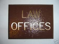 Custom Cast Brass Dedication Plaque or Business Sign