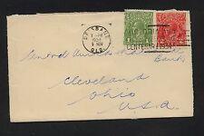 Australia  cover to  US  1934       JL0203