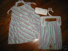 SG1 NWT 6 mo Strasburg 2pc stripe ric rak dress set