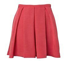Size 8 ROSE PINK WITCHERY SKIRT - High Waist Short Dress Corporate Skater