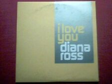 "DIANA ROSS - SAMPLER PROMO ""I LOVE YOU"" VG/M"