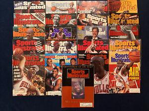 Michael Jordan Sports Illustrated Huge Lot of 21 1990-2002