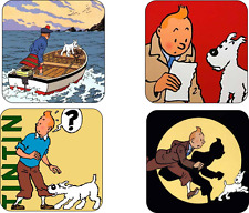 TinTin COASTER SET TIN TIN tin-tin
