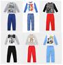 Boys Kids Official Licensed Disney Various Long Sleeve Pyjamas PJs 3 - 12