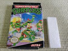 Teenage Mutant Ninja Turtles - Nintendo - NES - Authentic - Box Only - Oval Seal