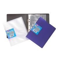 E&A A5 Project slim ring binder + 10 punched pockets