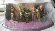 NEW DISNEY STORE RAPUNZEL TANGLED FIGURINE PLAYSET LOT OF 7 CAKE TOPPERS