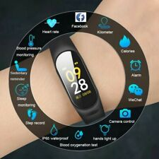 2019 Smart Watch Men Women Heart Rate Monitor Blood Pressure Fitness
