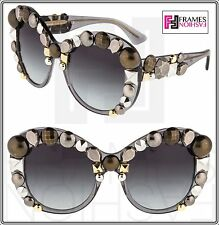 Dolce & Gabbana METAL STUD Capsule DG 4266 Grey Translucent Limited Sunglasses