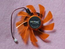 85mm ZOTAC Video Card Fan Replacement 39*39*39mm 2Pin T129215SH 12V 0.50A R207