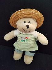 Starbucks Plush Stuffed Bearista 2006 Bear Garden Girl Doll Toy 47th Edition Tag