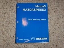 2007 Mazda3 Mazdaspeed3 Workshop Service Repair Manual i s Sport Grand Touring