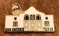 San Antonio Texas Alamo Lapel Hat Pin Pinback