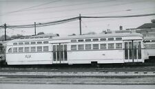 6FF618 RP 1960s? CLEVELAND OHIO RTA RAILWAY CAR #76 ' VAN AKEN LOCAL '