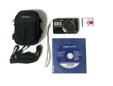 Sony CyberShot Camera DSCW170 10MP Karl Zeiss Zoom Battery Manual No Charger