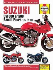 HAYNES SUZUKI GSF600, 650 & 1200 BANDIT FOURS '95 TO '06 SERVICE AND REPAIR MANU
