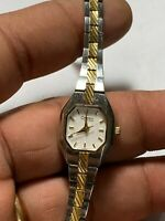 Ladies Dual Tone Caravelle By Bulova A4 Analog Watch