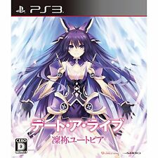 Used PS3 Date A Live:Rinne Utopia Japan Import Free Shipping