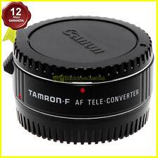 Moltiplicatore di focale Tamron AF TeleConverter 1,4x per obiettivi Canon EOS EF
