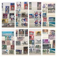 Used Stamp collection Mixture Of Used Stamps -