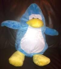 Disney, Suave Felpa, Club Penguin 2 en 1 Cojín transformar Azul