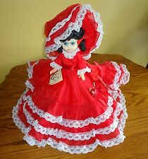 Vintage 1975 Gambina of New Orleans Hand Made Jo Anne Doll Southern Belle GREAT!