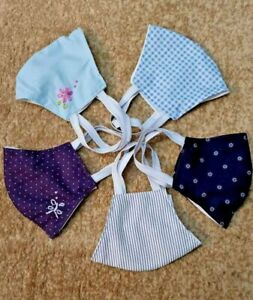 HANDMADE FACE MASK COTTON MATERIAL WASHABLE