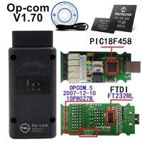 Op-com V1.1.70 PIC 18F 458 FT232RL Opel super Diagnostic Scanner CAN BUS OBD2 E4