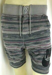 Nike FC Mens Gray Logo Swoosh Squad aztec Venom Sweatshorts Size Medium Shorts