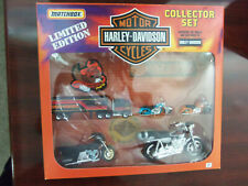 Matchbox HARLEY-DAVIDSON CYCLES COLLECTOR SET LIMITED EDITION ** RARE **