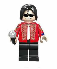 Michael Jackson  Minifigure toy figure King of Pop Thriller custom
