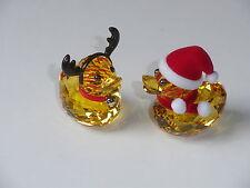 Swarovski Happy Duck Ducks Glückliche Enten Weihnachtsmann Rentier 5004497 -2013