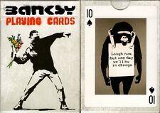 Banksy Playing Cards Poker Size Deck Piatnik Custom Limited Edition New Sealed
