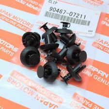 Genuine Toyota Lexus Ct Is Rx Gs Radiator Cover Grille Clips 90467 07211 10pc Fits 2013 Lexus Rx350
