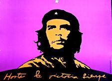 "CHE Cuba ""HASTA LA VICTORIA SIEMPRE"" ORIGINAL OSPAAAL poster RARE Collectable"