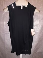 WOMEN'S X-LARGE ( 16-18 )NIKE FIT DRY SLEEVELESS REFLECTIVE RUNNING TANK TOP