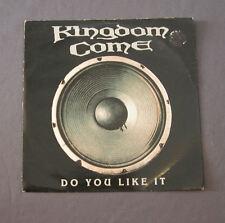 """Vinilo SG 7"""" 45 rpm  KINGDOM COME - DO YOU LIKE IT - Record"""