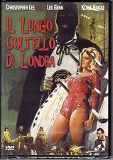 dvd IL LUNGO COLTELLO DI LONDRA C. LEE L. GENN K. KINSKI