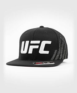 UFC VENUM MMA HAT CAP AUTHENTIC FIGHT NIGHT UNISEX WALKOUT HAT - BLACK 00010-001