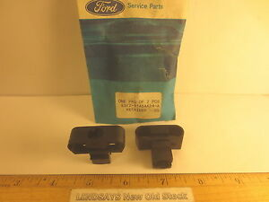 2 PCS FORD 1983 ESCORT & MERCURY LYNX RETAINER (LUGGAGE COVER) W/REMOVABLE COVER