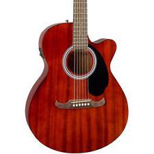 Fender FA-135CE Concert Acoustic-Electric Guitar Mahogany