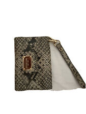 iphone 4 michael kors Phone cover And Credit Card Holder Leather Snake Skin