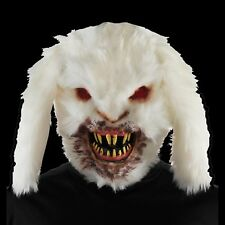 Creepy Horror RABID KILLER BUNNY RABBIT MASK Halloween Monster Costume Accessory