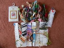 Tapestry Wool /cross stitch/embroidery threads  Left overs from kits