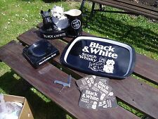 Job Lot Black & White Whiskey Advertising Set