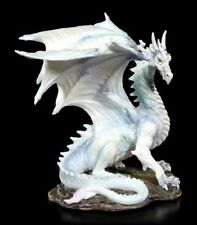 Drachen Figur - Fantasy DEKO Statue Gothic Veronese Sammelfigur