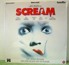 Scream (1996) PAL Laser Disc, Horror, Courtney Cox, Drew Barrymore [PLFEB 37221]